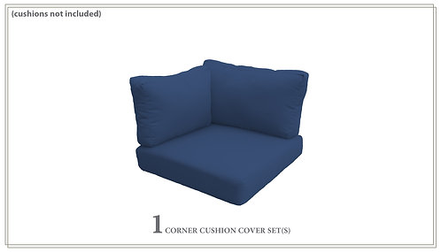 Covers for Low-Back Corner Chair Cushions 6in