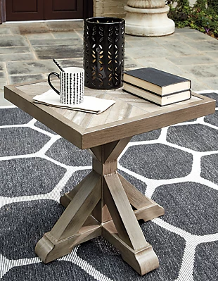 Beachcroft Outdoor End Table