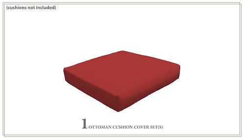 Cover for Ottoman Cushions 6in