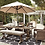 Thumbnail: Beachcroft Outdoor Dining Table and 4 Chairs and Bench