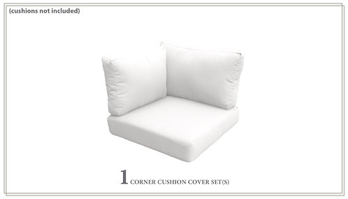 Covers for High-Back Corner Chair Cushions 6 inches thick