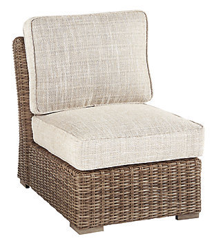 Beachcroft Outdoor Armless Chair with Cushion