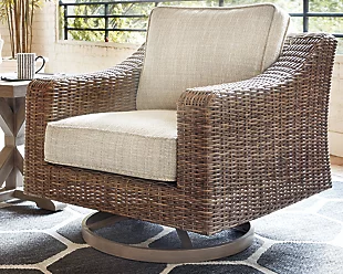 Beachcroft Outdoor Swivel Lounge Chair