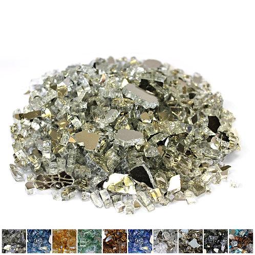 Platinum 1/4 Reflective Fireglass - 10 lb bag