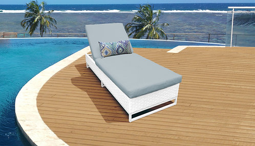 Monaco Chaise Outdoor Wicker Patio Furniture