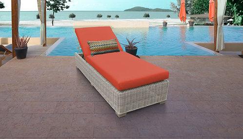 Coast Chaise Outdoor Wicker Patio Furniture