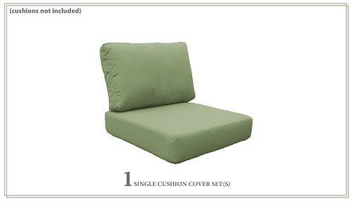 Covers for High-Back Chair Cushions 6in