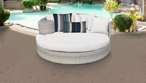 Fairmont Circular Sun Bed - Outdoor Wicker Patio Furniture