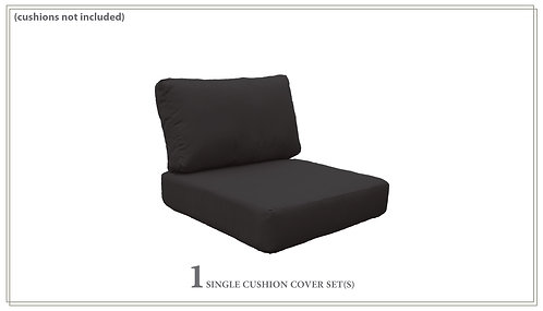 Covers for Low-Back Chair Cushions 6in