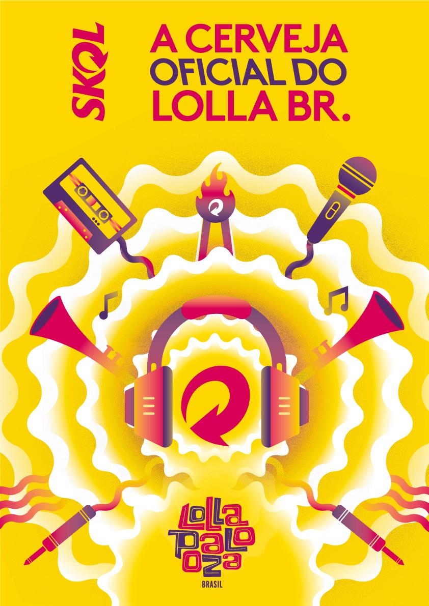 Skol - Lollapalooza