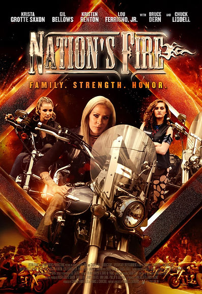 Nation's Fire Movie Review, Nation's Fire review, Nation's Fire Movie, Nation's Fire IMDB, Nation's Fire Movie Reviews, Nations Fire Reviews, Nation's Fire Cast, Nations Fire cast, Krista Grotte Saxon, Bruce dern, Gil Bellows, Chuck Liddell, Kristen Renton, Lou Ferrigno, jr, Kelly Reiter, Thomas J Churchill