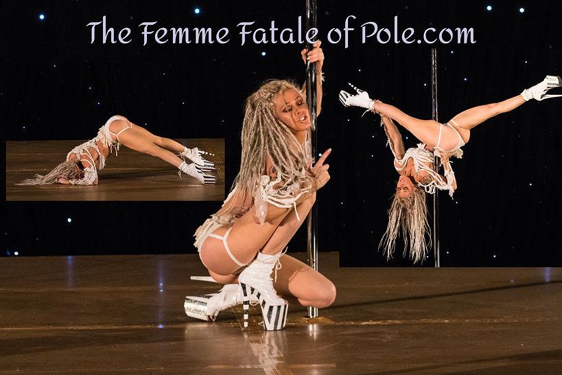 Krista Grotte Saxon, Krista G Saxon, Femme Fatale of Pole, Krista Grotte, Pole Competition, Pole Sport Organization,