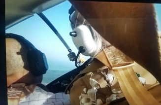 Me Flying a '65 Cessna