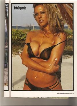 Krista G Saxon in American Curves Magazine