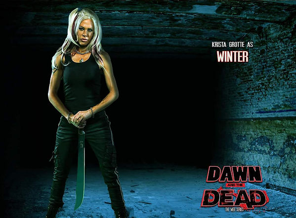 Krista Grotte Saxon Dawn and the Dead