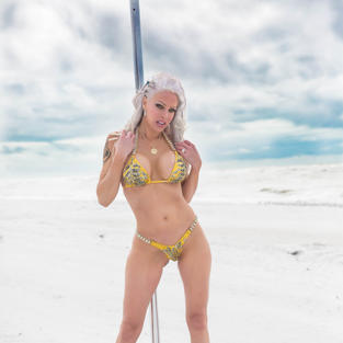 Pole at the Beach