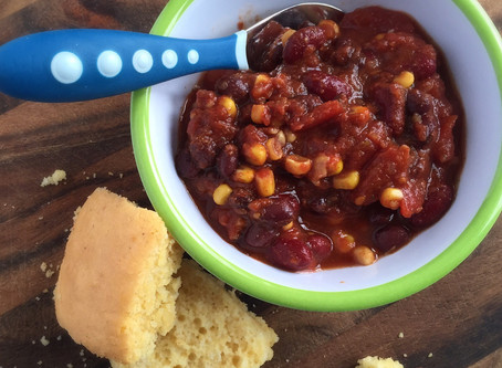 Our favourite black bean chili