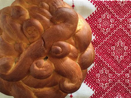 Vegan Easter Pascha Bread