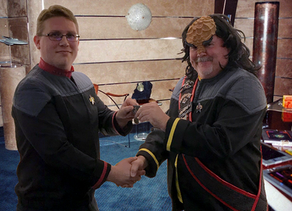 Captain Wagner Honored by Klingon Empire