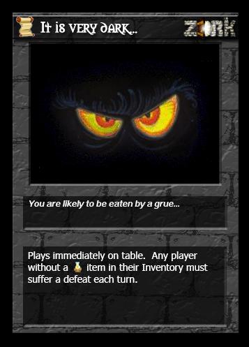 CARD GAME   The Zork Underground