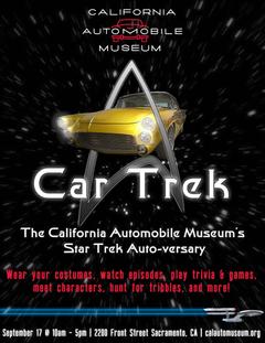 CAR TREK AUTO-VERSARY