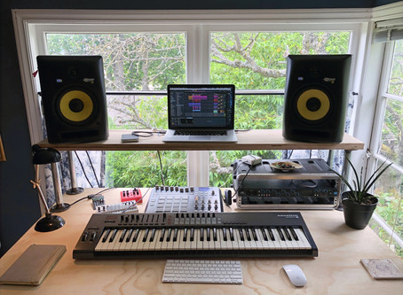 What I learned from building my studio desk