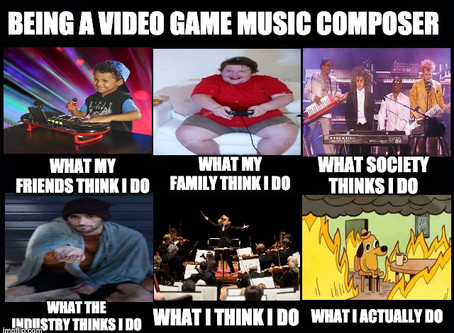 The Video Game Music Composer Lifestyle