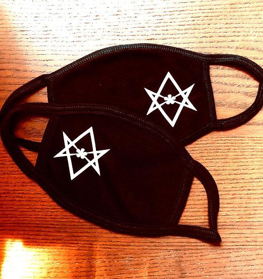 Hexagram Face Mask