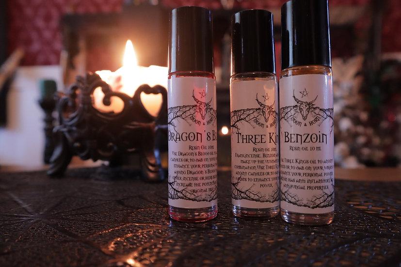 Moon & Horn Resin Oils