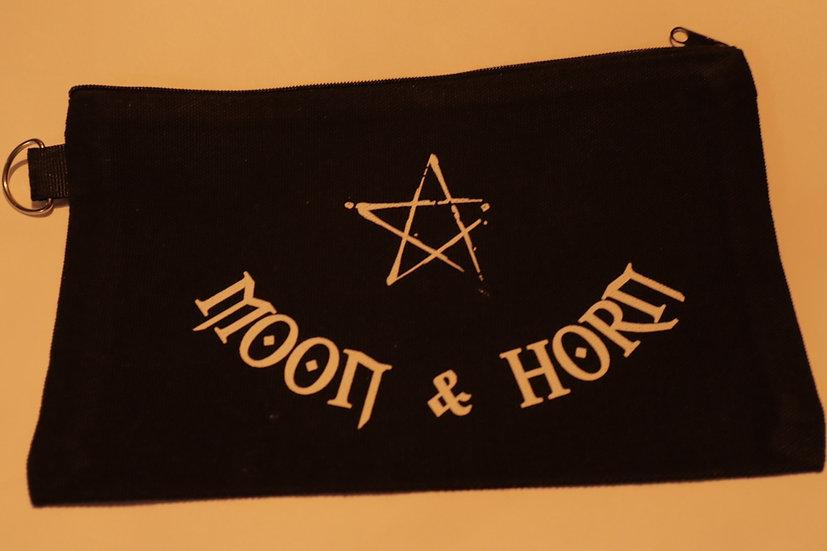 Moon & Horn 100% Cotton Magic Tool Pouch/Makeup Bag