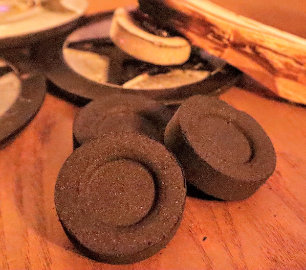 Charcoal Puck Pack for Incense and wood burning(pk of 10)