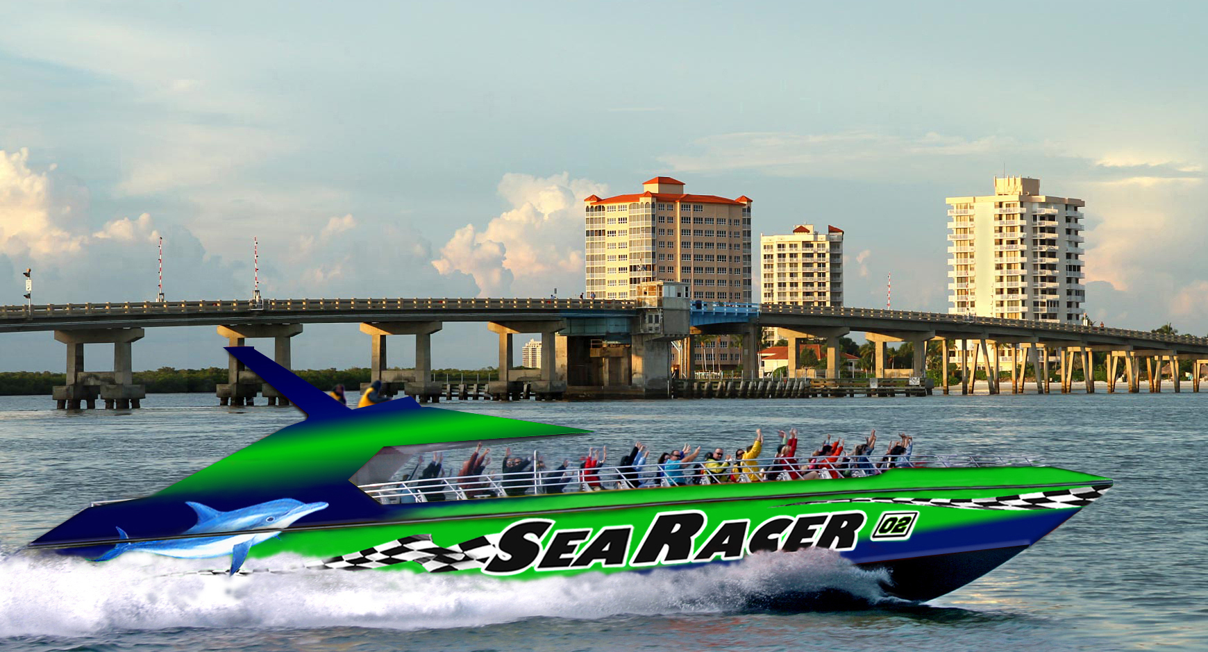 Sea Racer narrated tour of Fort Myers Beach