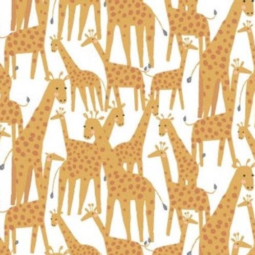 Cotton Face Mask - Giraffe