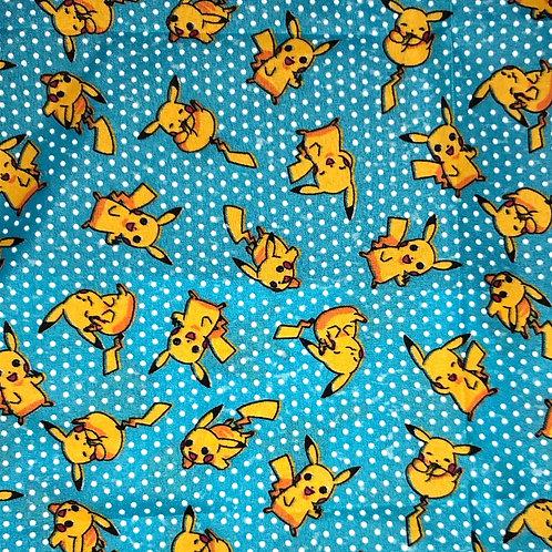 Cotton Face Mask - Pikachu