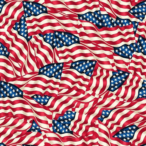 Cotton Face Mask - USA Flag