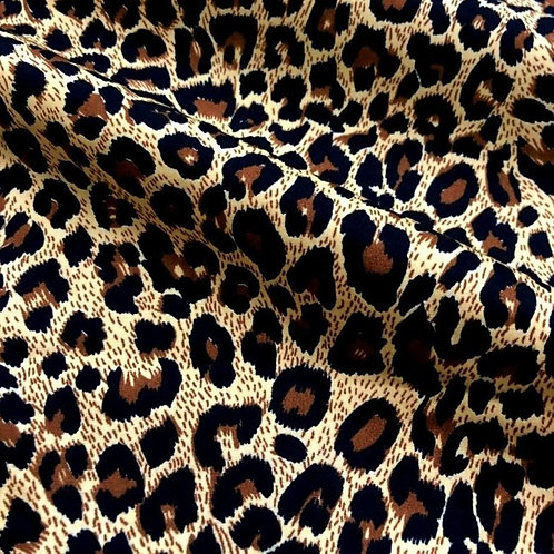 Windowed Face Mask - Cheetah