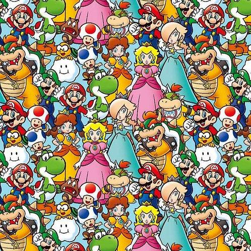 Cotton Face Mask - Mario Party