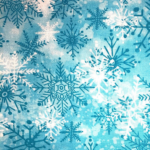 Cotton Face Mask - Snowflakes