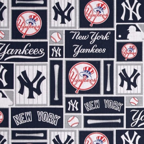 Cotton Face Mask - NY Yankees
