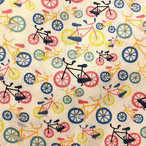 Cotton Face Mask - Bicycles