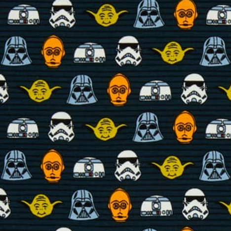 Cotton Face Mask - Star Wars Toons