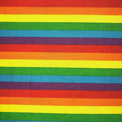 Cotton Face Mask - Rainbow