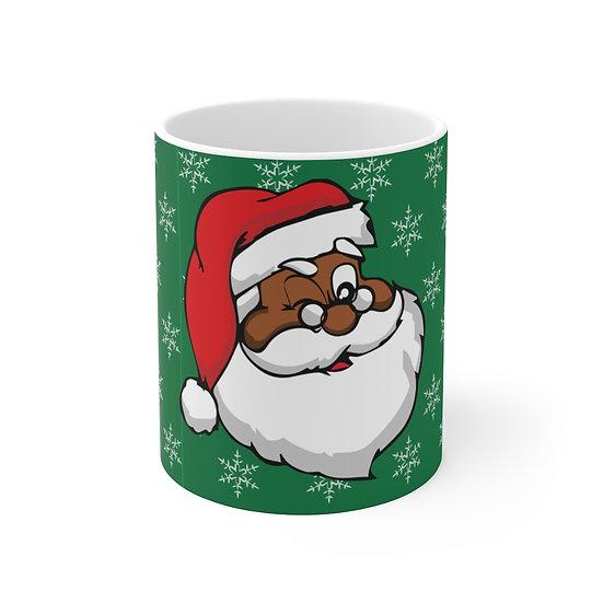 Santa's Watching Coffee Mug