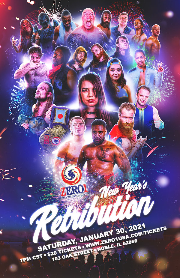 ZERO1 USA NEW YEAR'S RETRIBUTION - 1-30-