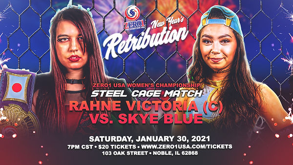 ZERO1 USA NEW YEAR'S RETRIBUTION - MATCH
