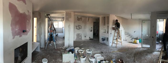 Stuccature e pitture