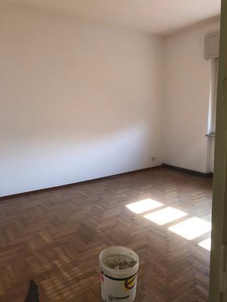 Camera prima dell'inizio dei lavori