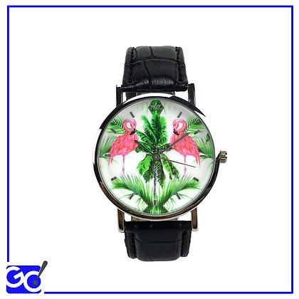 Orologio Woodstock Zambon - Fenicottero
