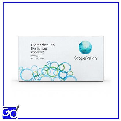 Biomedics 55 Evolution 3 lac