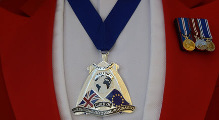 Fellowship Guild badge and service medals